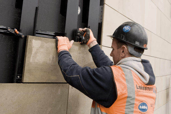 Horizontal Rainscreen Cladding Systems Helping Hand
