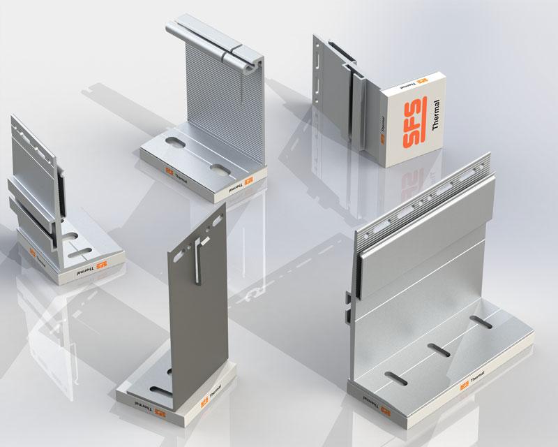 SFS Nvelope Bracket Product Range